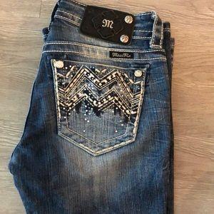 Women's miss me jeans size 25